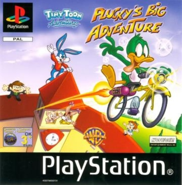 Cover zu Tiny Toon Adventures: Plucky's Big Adventure