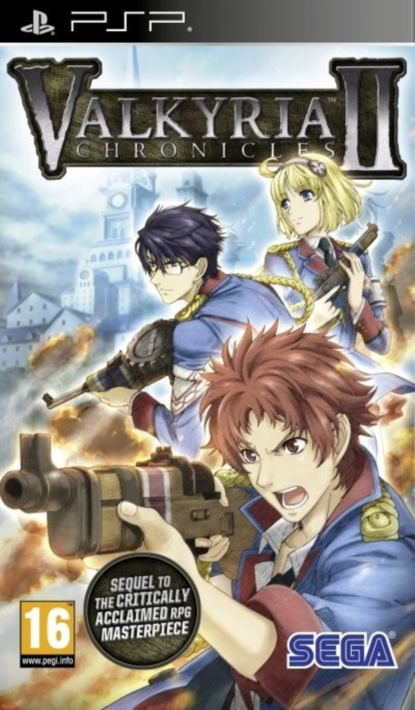 Cover zu Valkyria Chronicles 2