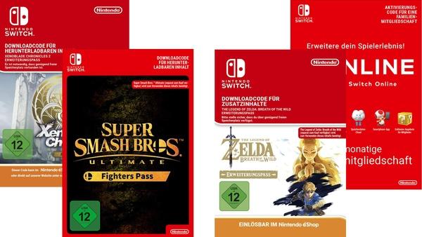 Switch Sale bei Amazon - Spiele, DLCs und Switch Online günstiger [Anzeige]