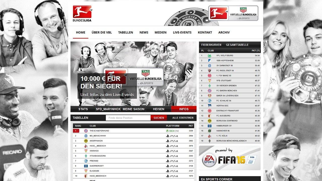Fifa 16 Virtuelle Bundesliga