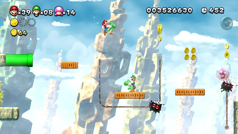 New Super Mario Bros U Deluxe Im Test Alte Hupf Liebe Rostet Nicht