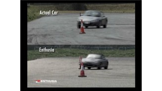 Comparison in physics between real car and Enthusia car