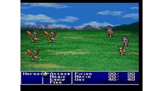 Final Fantasy II: regular battle
