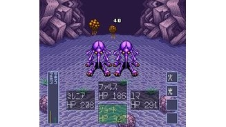 Fighting some violet dudes