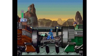 Megaman X on the Military Train