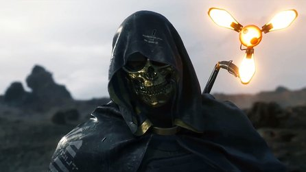 Death Stranding - TGS-Trailer zeigt Mann in goldener Maske & neues Monster
