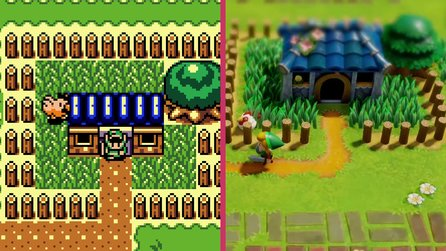 The Legend of Zelda: Link's Awakening - Switch Remake Trailer im Vergleich zum Original
