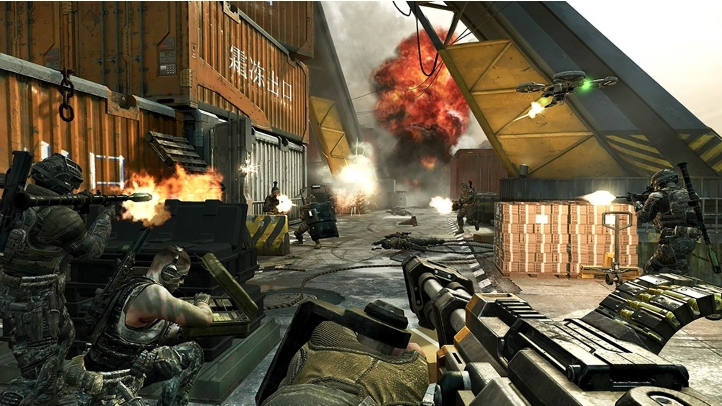 Call of Duty: Black Ops 2 - Multiplayer-Screenshots