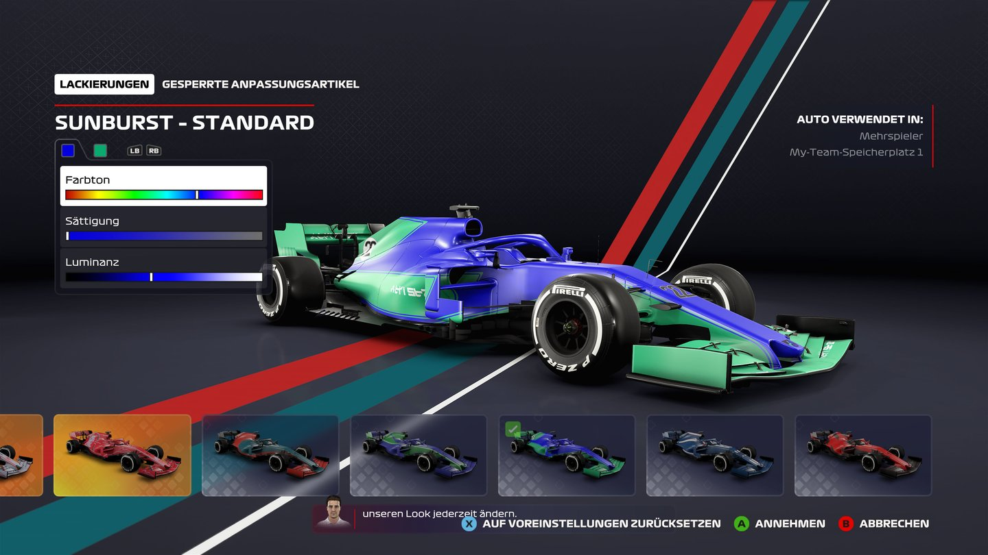 F1 2020 - Screenshot