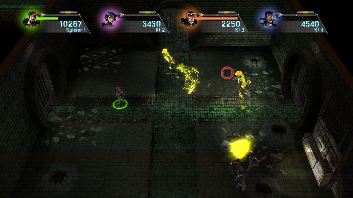 Ghostbusters: Sanctum of Slime - Screenshots aus der Test-Version