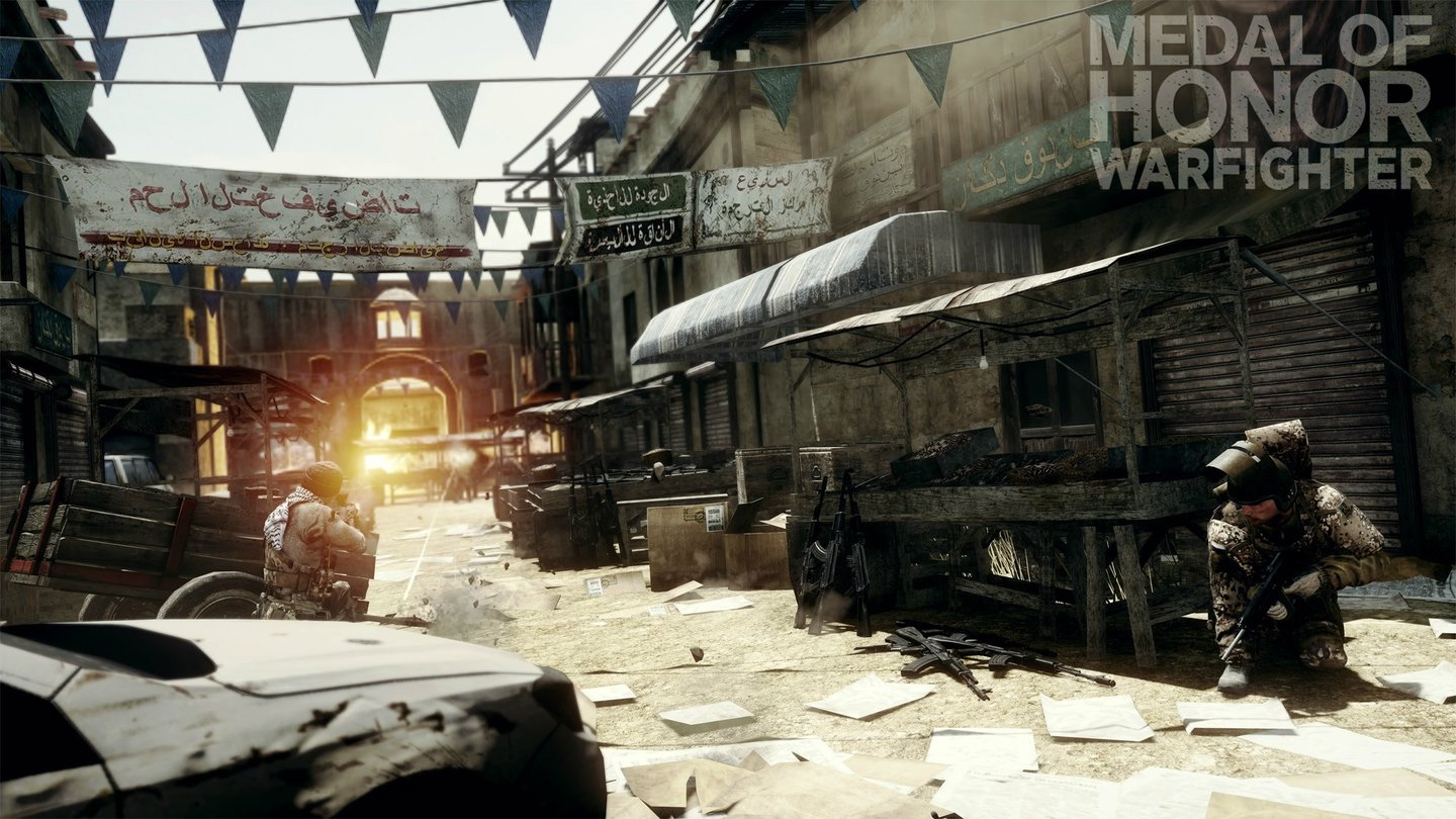 Medal of Honor: Warfighter - Darra Gun Market aus dem Hunt-Kartenpaket.