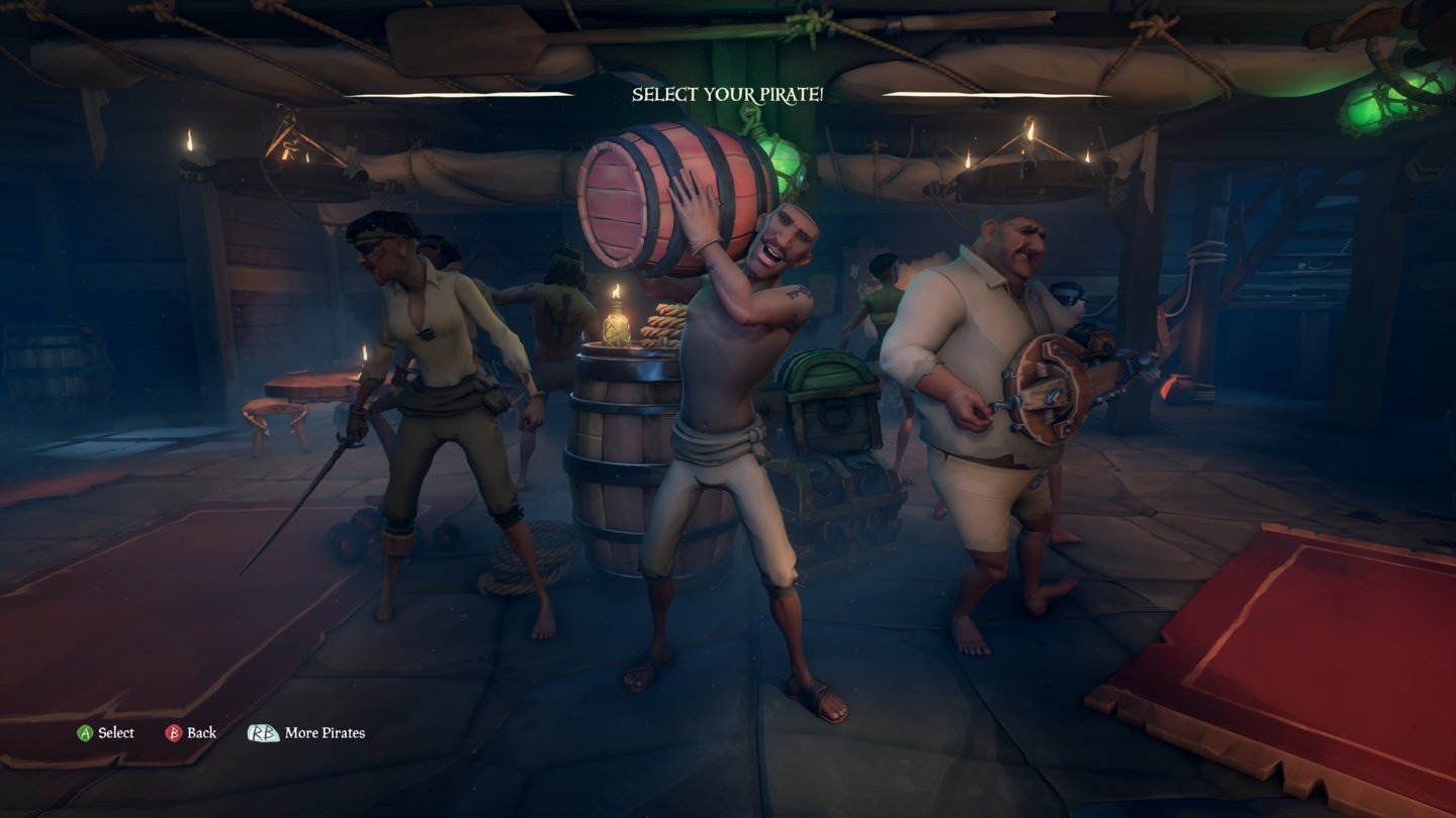Sea of Thieves Pirate_Selection_2