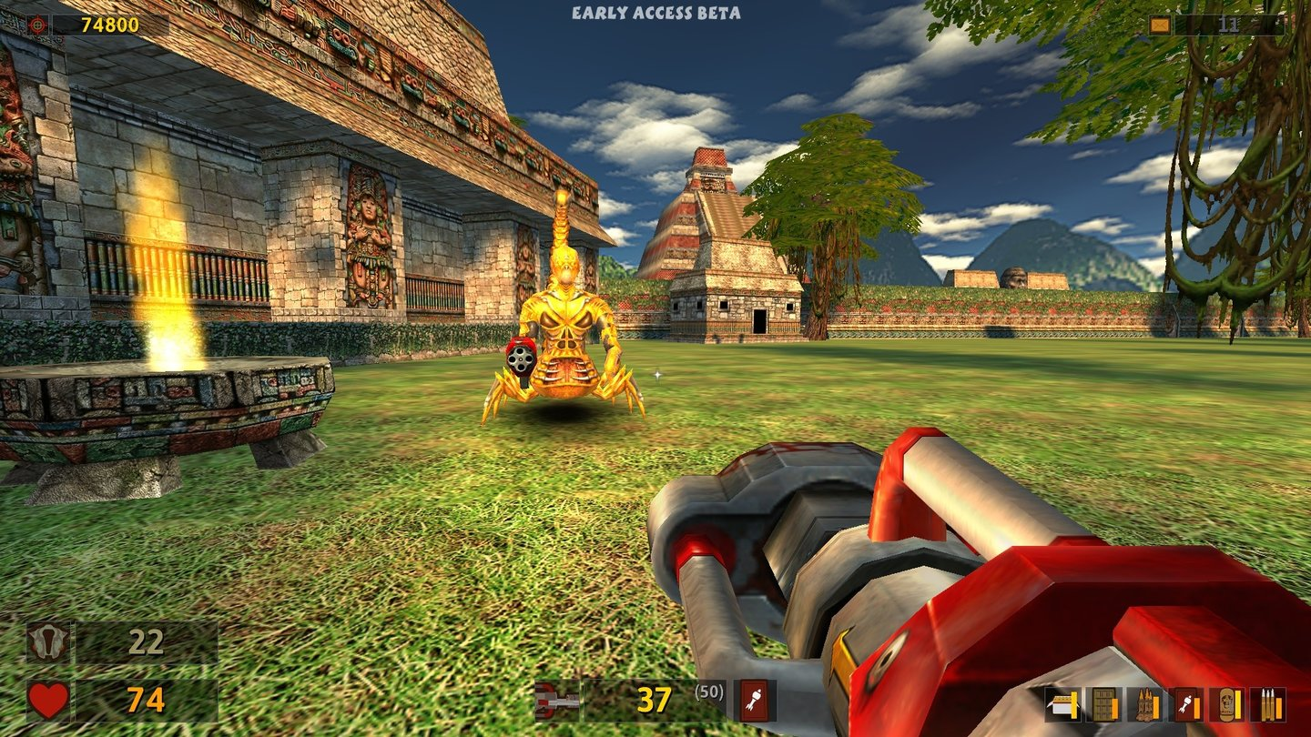 Serious Sam Classics: Revolution - Screenshots