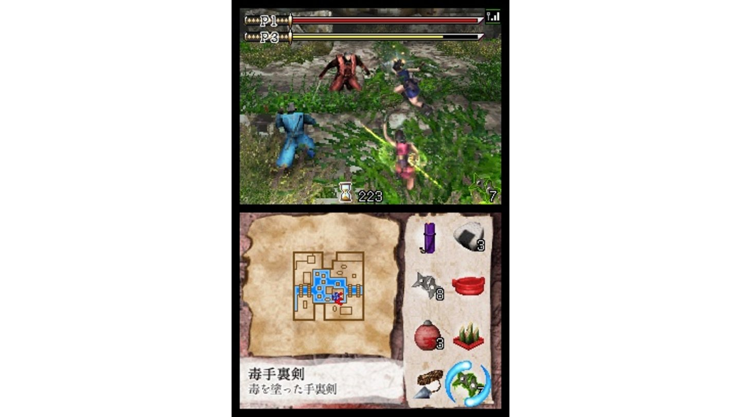 Tenchu Dark Secret DS 6