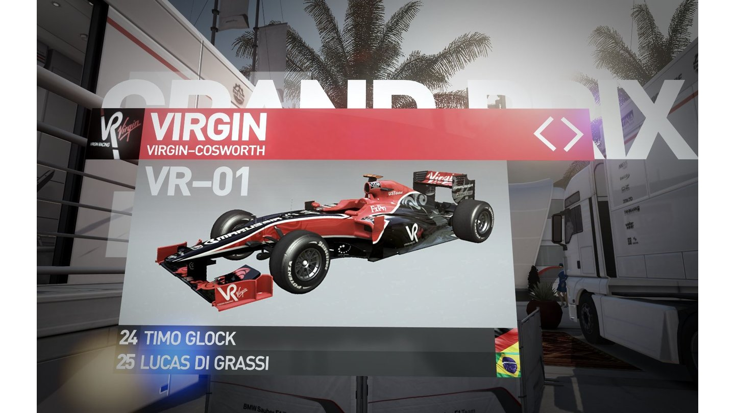 F1 2010 - Die TeamsVirgin