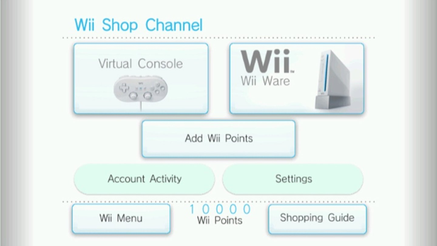 Wii Channel 6