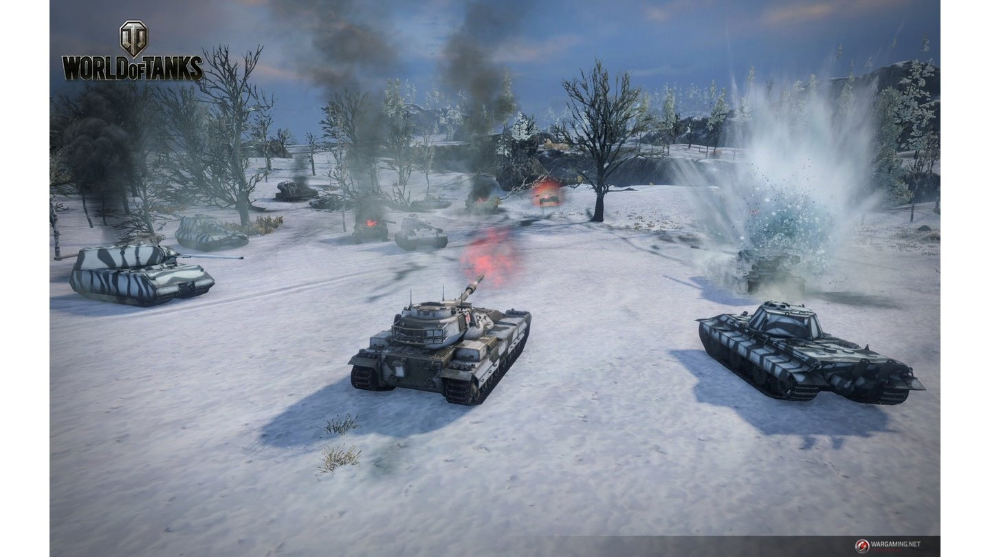 World of TanksScreenshot aus dem Update 8.11