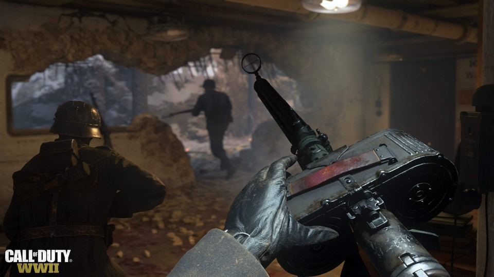 eSportler frohlocken: Call of Duty: WW2 kommt zum Launch auch mit Ranked Play- und Game Battles-Support.