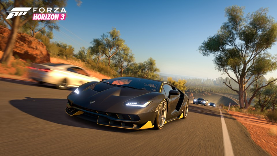 Das Open-World-Rennspiel Forza Horizon 3
