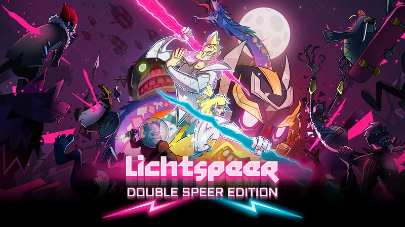 Lichtspeer: Double Spear Edition gibt es nun für Nintendo Switch.
