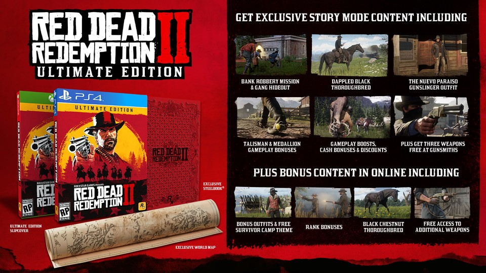 Die Ultimate Edition von Red Dead Redemption 2.