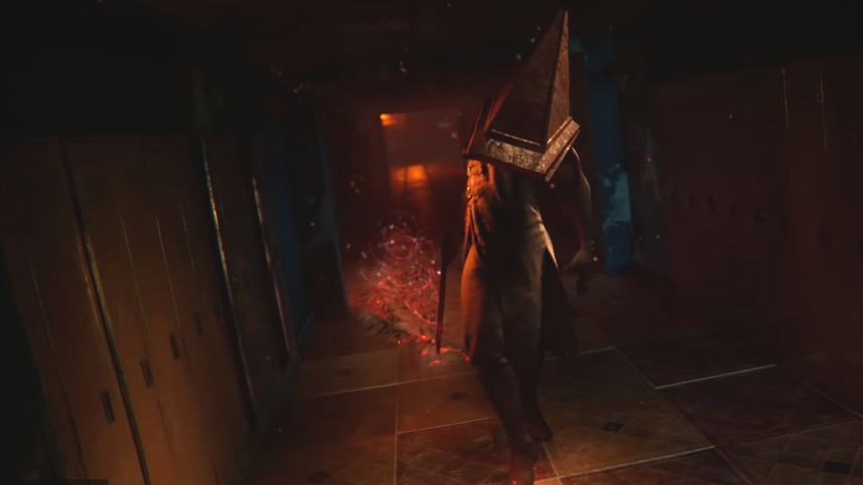 So sieht der Silent Hill-Fiesling Pyramid Head in Dead by Daylight aus.
