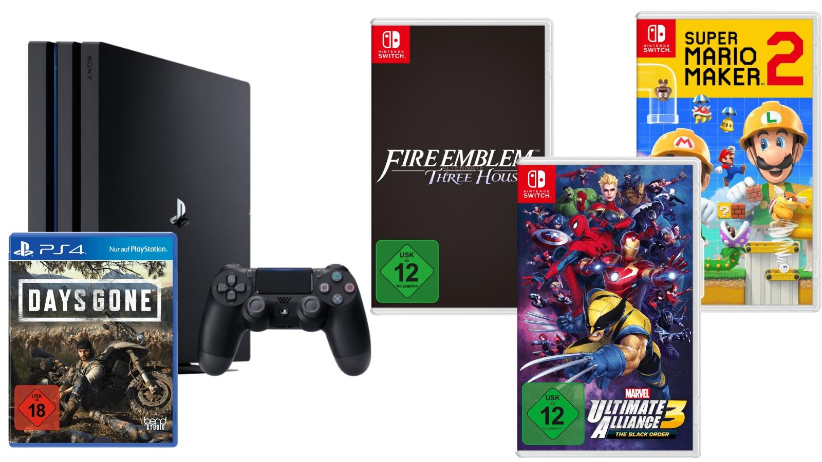 Switch-Spiele günstig vorbestellen, PS4-Bundle - Deals bei