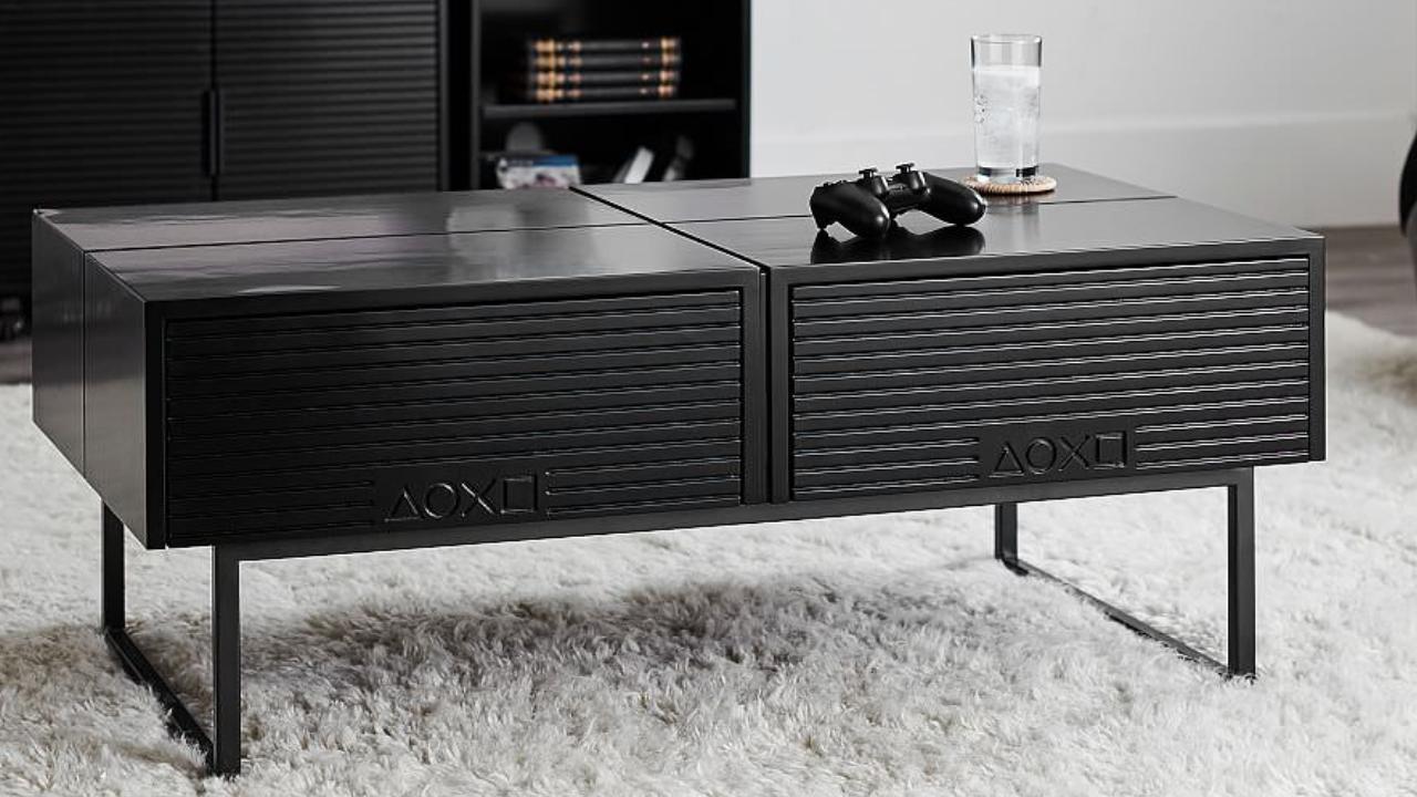 Ps4 Tisch Gefallig Es Gibt Jetzt Offizielle Playstation Mobel