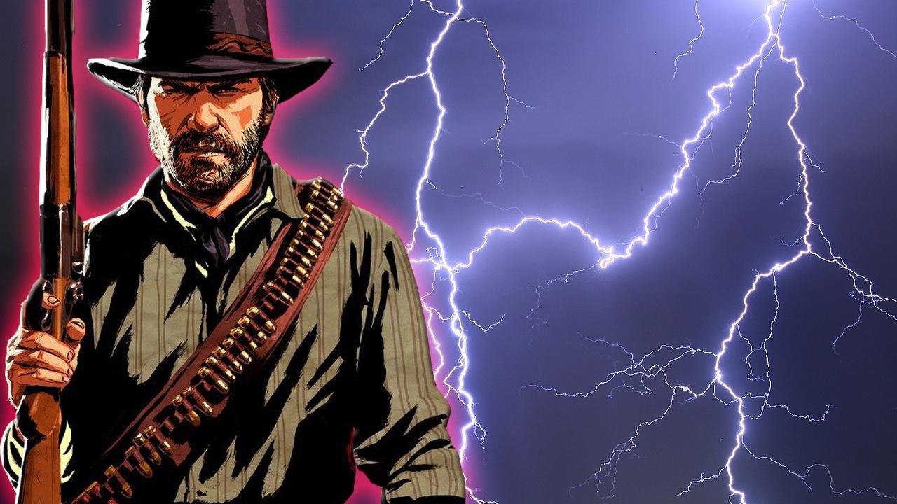 Vom Blitz getroffen: In Red Dead Redemption 2 ist alles möglich